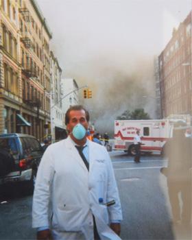 Doctor Gerut 9/11 smoke street